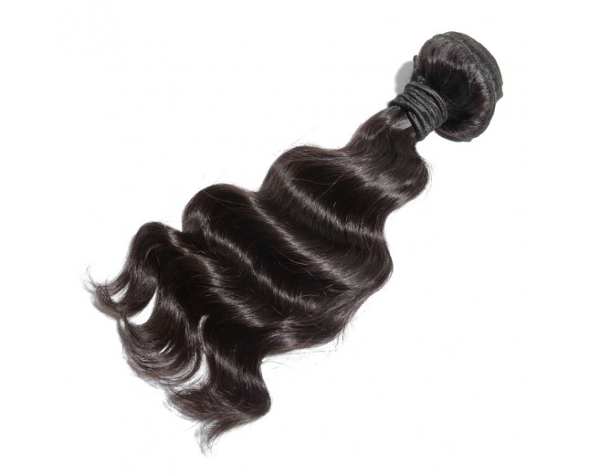 Virgin Hair Extensions  High Quality Unprocessed Chinese Hair Bundle 6A Grade