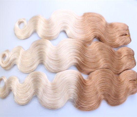 1 Piece/lot Ombre Hair Extension High Quality Indian Hair