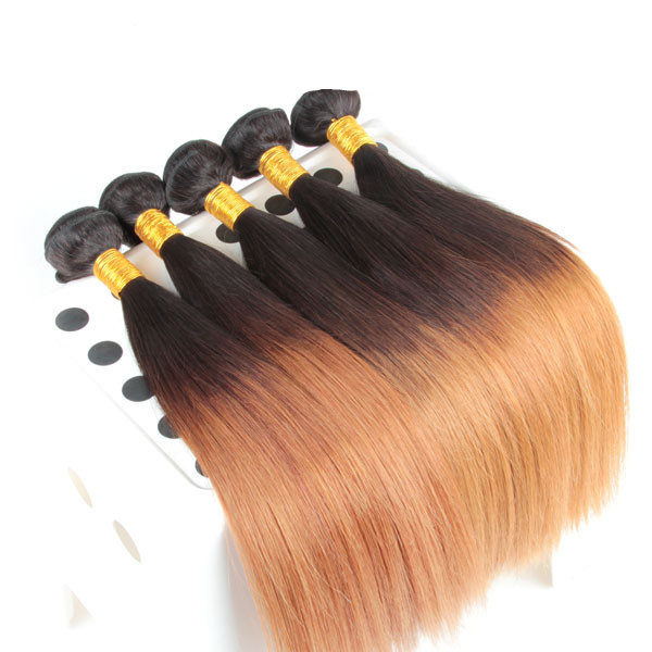 No Smell Full 100 Grams Ombre Hair Weave Wholesale