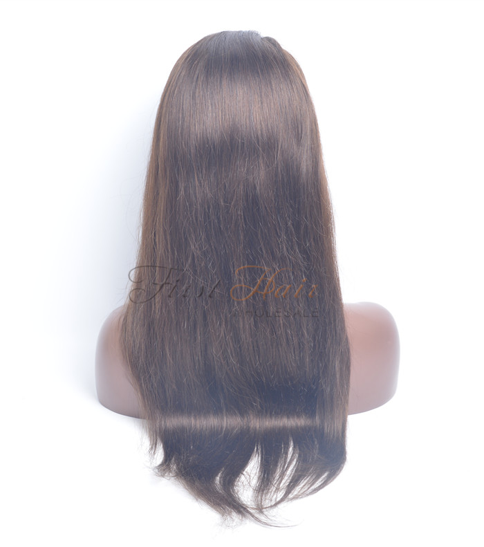 Full Lace Wig Wigs Silky Straight Tangle Free Chemical Free In Stock
