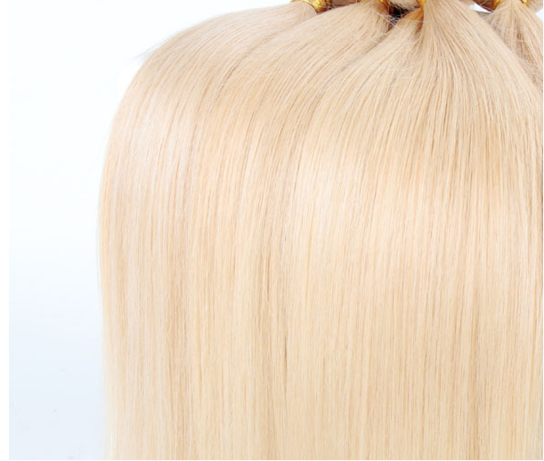 Blond Hair 613 Best Quality Virgin Remy Hair Weave Extensions 7a